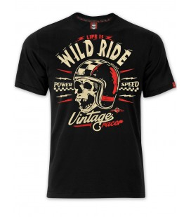 T-shirt Wild Ride Black, TSM-025