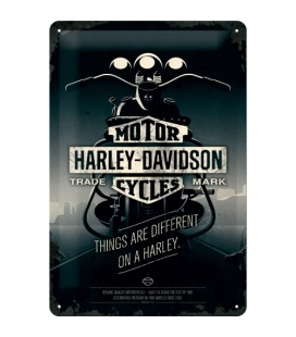 Szyld 30x20 tablica Harley Night