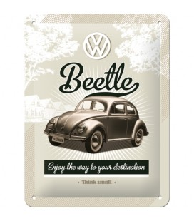 Szyld 15x20 tablica VW Beetle