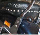 Blacha mocująca siedzenie, SB-017
