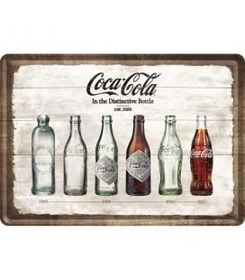 Tabliczka, pocztówka, Coca-Cola