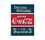 Tabliczka, magnes, Coca-Cola drink