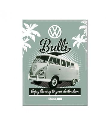 Tabliczka, magnes, VW T1 Bulli