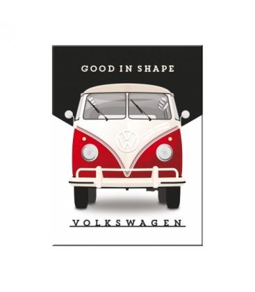 Tabliczka, magnes, VW T1 Good In Shape