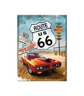 Tabliczka, magnes, Route66