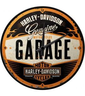 Zegar Harley Garage