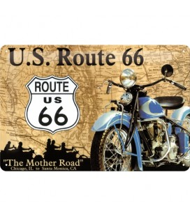 Szyld, tablica, U.S. Route 66