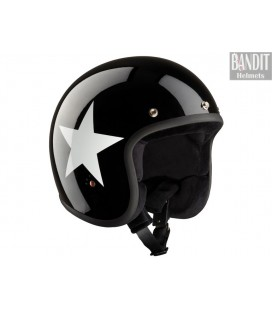 Kask Bandit-Ece Star Jet Black
