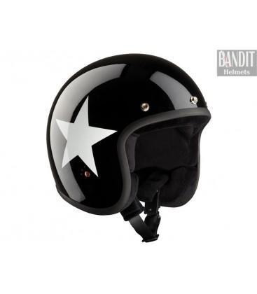 Kask Bandit Ece Star Jet Black