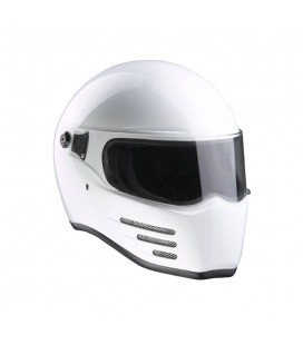 Kask Bandit Fighter Shiny White