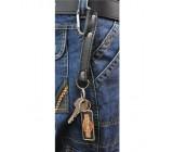 Zawieszka do kluczy skórzana, AK-383