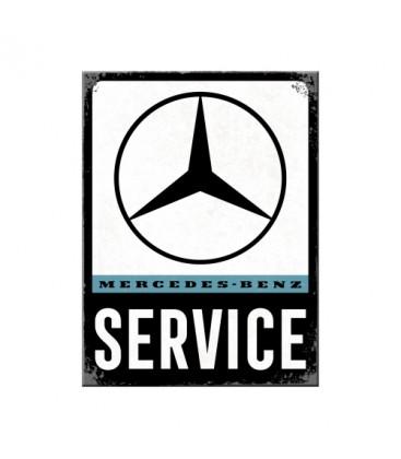 Tabliczka, magnes, Mercedes Service