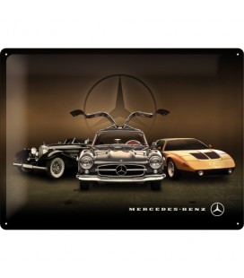 Szyld 30x40 Mercedes Cars