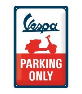 Szyld 30x20 tablica Vespa Parking Only