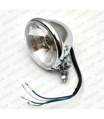Lampa 4 1/2 chrom, OS-087