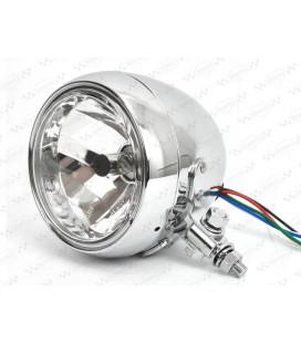 Lampa 4 1/2 chrom, OS-097