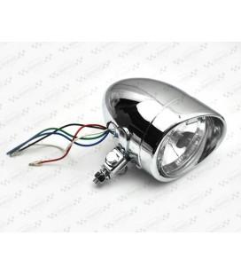 Lampa 4 cale chrom, OS-059