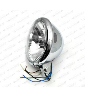 Lampa 5 3/4 chrom, OS-031
