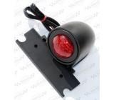 Czarna, tylna lampa, OS-036