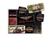 Magnesy, zestaw, Harley motory 1