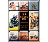 Magnesy, zestaw, Harley motory 2