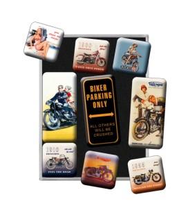 Magnesy, zestaw, Harley moto 2