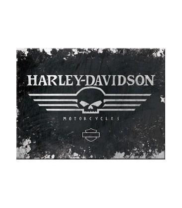 Tabliczka, magnes, Harley Skull
