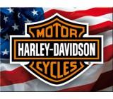 Tabliczka, magnes, Harley USA