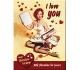 Tabliczka, magnes, Love You
