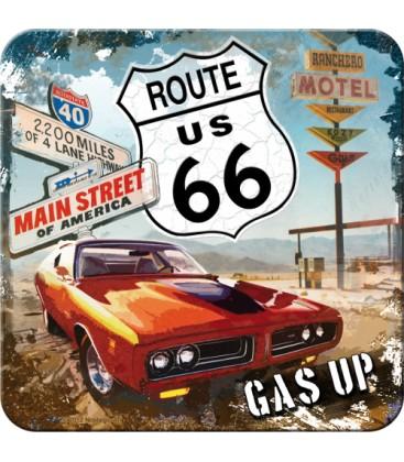 Metalowa podkładka, Route 66