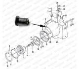 Mocowanie klosza lampy, OS-019