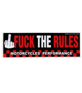 Naklejka Fuck The Rules