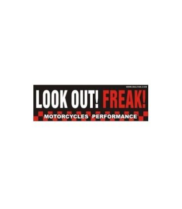 Naklejka Look Out! Freak!