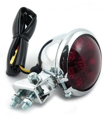 Chromowana lampa, tylna diodowa OS-229