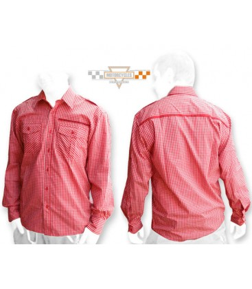 PKK 11 Koszula w kratę czerwoną