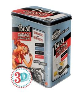 Pojemnik 3D, puszka, Best Garage