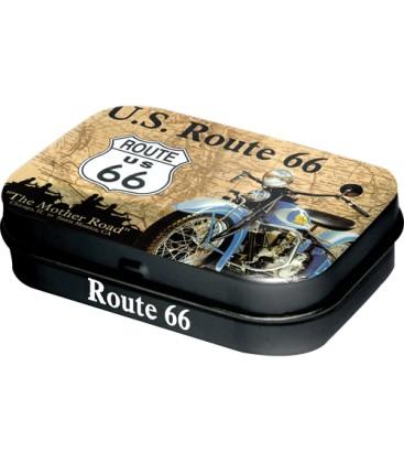 Pojemnik z miętówkami Route 66 M