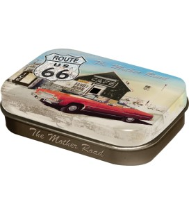 Pojemnik z miętówkami Route 66 US
