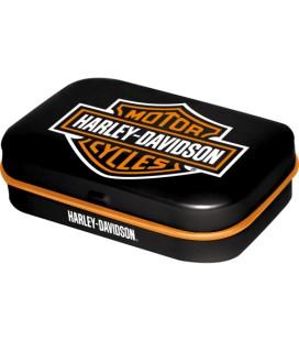 Pojemnik z miętówkami, Harley Logo