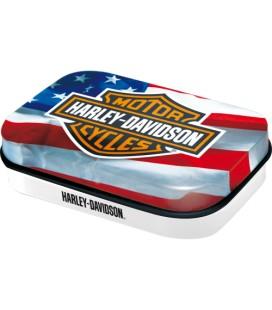 Pojemnik z miętówkami, Harley USA
