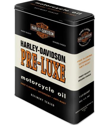 Pojemnik, puszka, Harley Pre Luxe