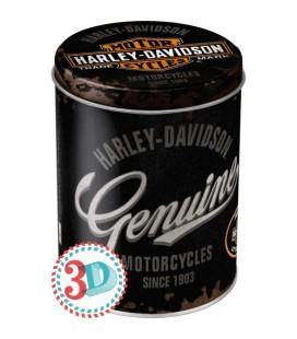 Puszka, pojemnik 3D, Harley Genuine