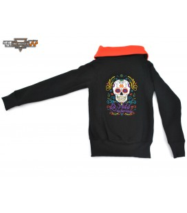 BLD 21 Mexican Skull Orange