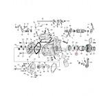 Simering kapy wew. 80-84 FLT, FXR