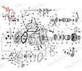 Sprężyna dźwigni zm. biegów SU-070