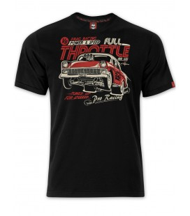 T-shirt Full Throttle Black, TSM-004