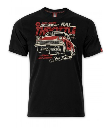 T-shirt Full Throttle White, TSM-003