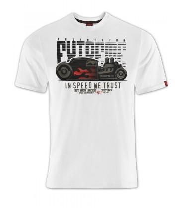 T-shirt Hot Rod Factory Black, TSM-005