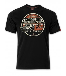 T-shirt Gasoline Black, TSM-009