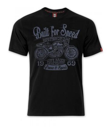 T-shirt Gasoline Black, TSM-009